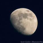 """""""The Moon"""", cropped, hand held. F9, 1/5000th, ISO 16000,"""
