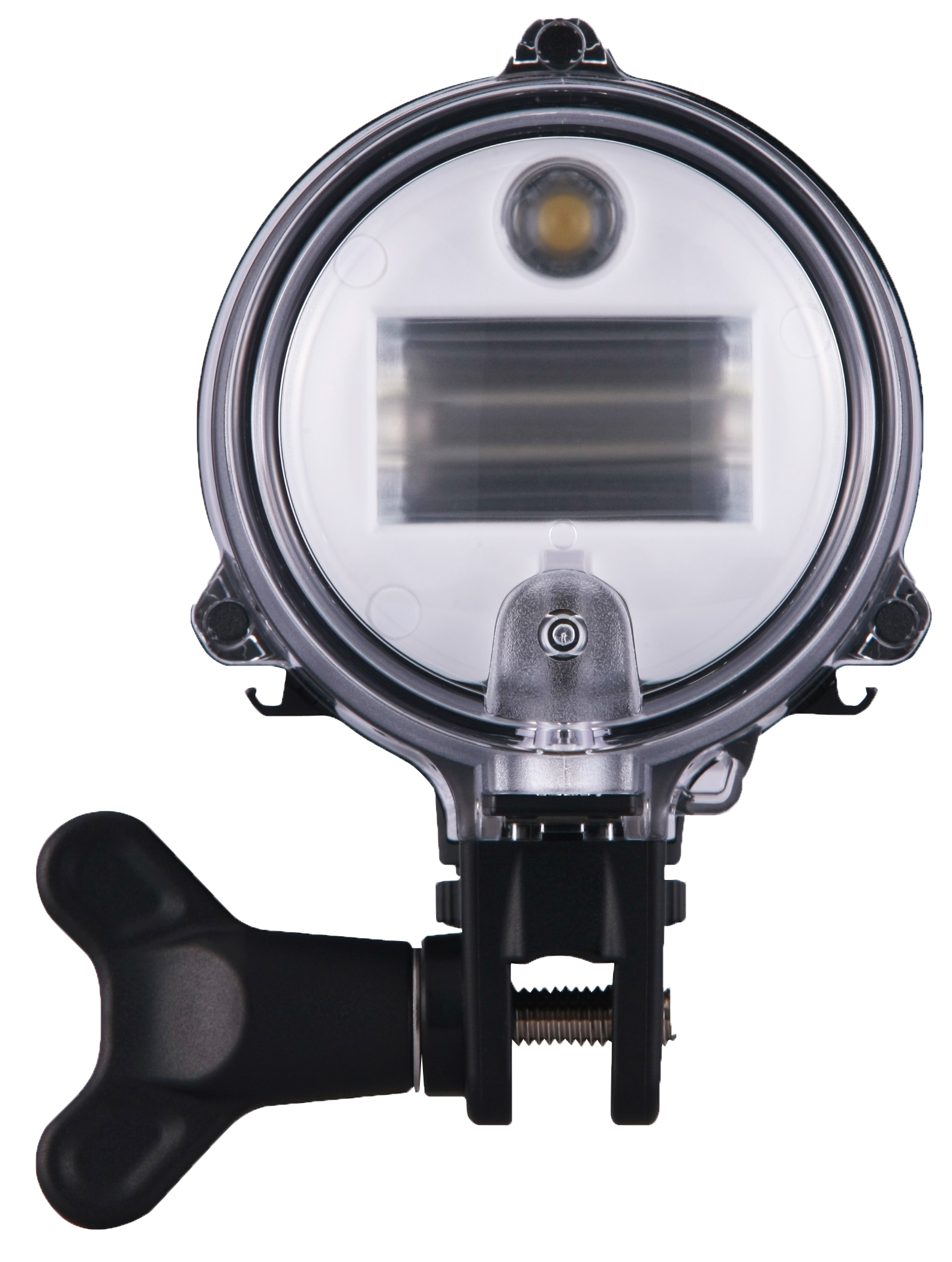 Front side of the Sea & Sea YS-D2J strobe