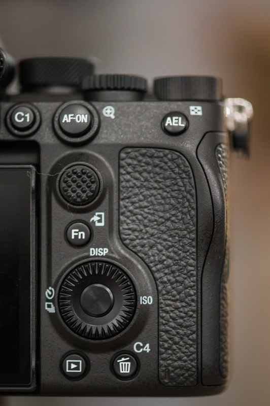 sony a7s iii buttons