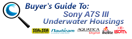 Buyers Guide for Sony A7S III Underwater Housing