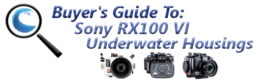 Buyers Guide for Sony RX100 VI underwater housing