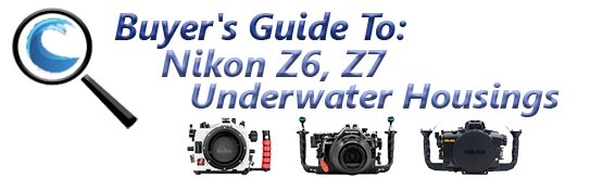Buyers Guide for Nikon Z6,Z7 Underwater Housing