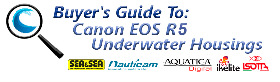 Buyers Guide for Canon EOS R5 Underwater Housing