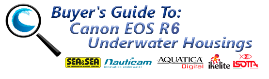 Buyers Guide for Canon EOS R6 Underwater Housing
