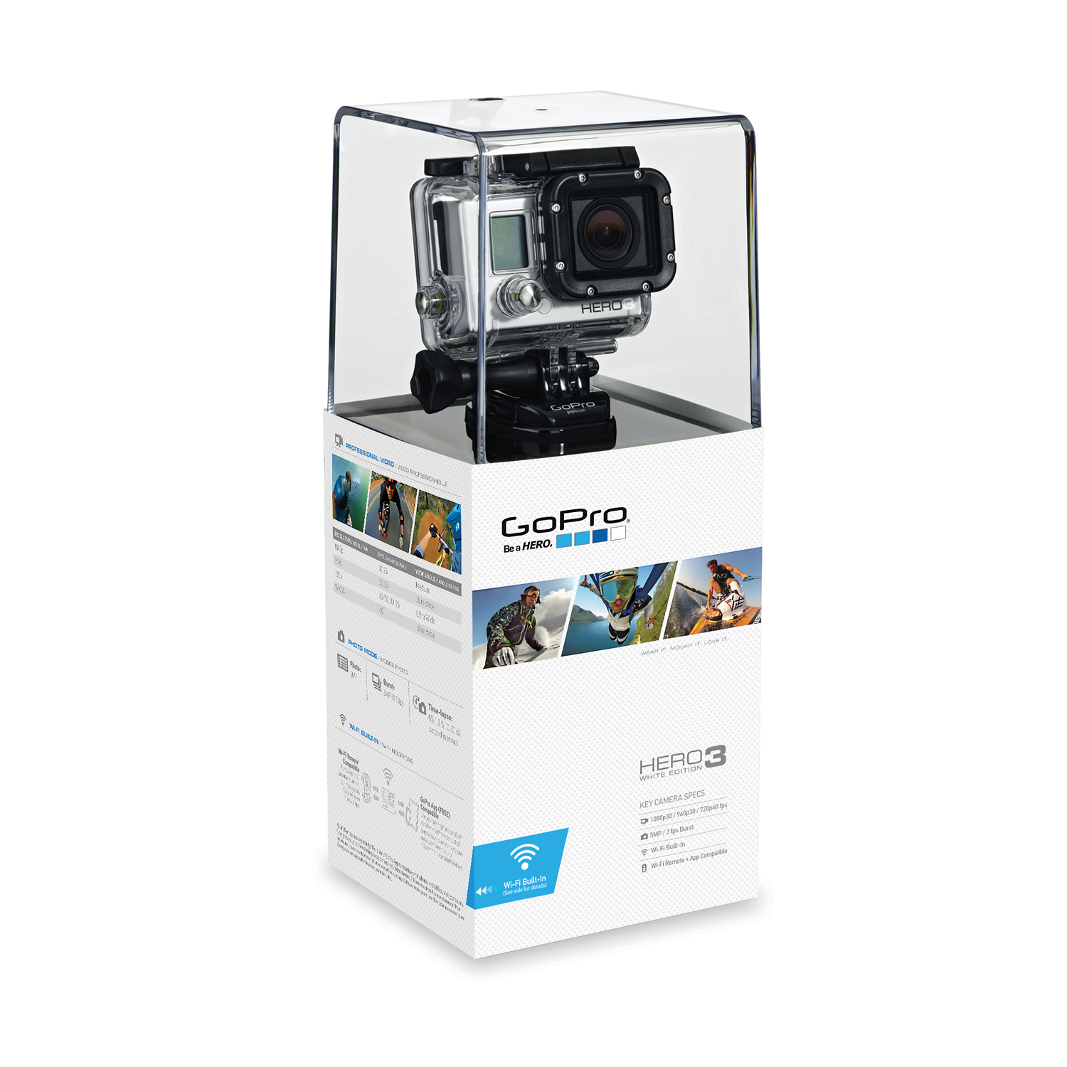 GoPro White Edition