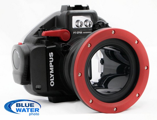 olympus e-pm1 underwater housing