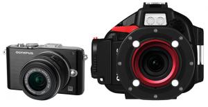 Olympus E-PL3 Camera and Housing Package
