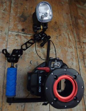 Olympus E-PL3 Package With Camera, Housing, and YS-01 Strobe