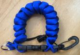 Cetacea Quick-Release Cloth Coil Lanyard ( for Compact Housings)