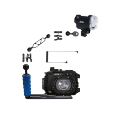 Fantasea Canon G7X II Housing and YS-01 Strobe Package