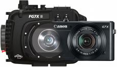 Fantasea G7X Mark II Housing and Camera Bundle