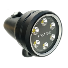 Light & Motion Sola 2500F Underwater Video Light