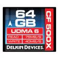 Delkin Compact Flash 500X UDMA 6 64GB Memory Card