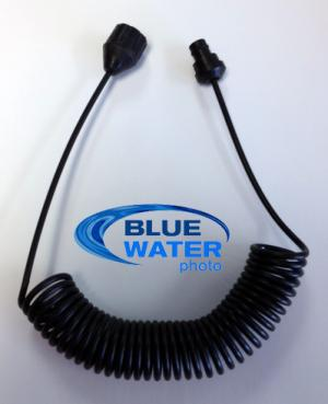Bluewater Fiber Optic Cable- Sea & Sea Strobe to 10bar or Nauticam dSLR Underwat
