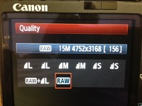 Why You Should Shoot In RAW