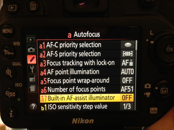 Focus Fast with your Nikon DSLR