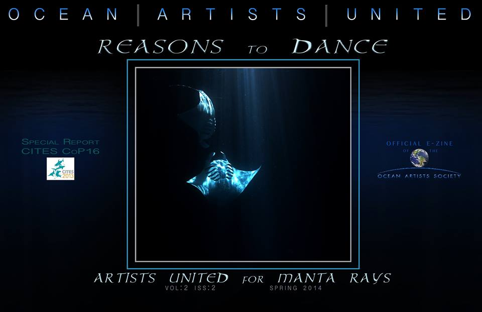 Ocean Artists Society – New MANTA Ray Film