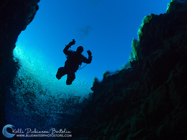 Diving Silfra with the Olympus OM-D E-M1 Mark II