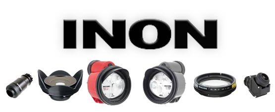 Inon strobes, lenses and accessories