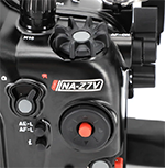 Nauticam's underwater housing for the Nikon Z7 features easy access to the camera's essential controls