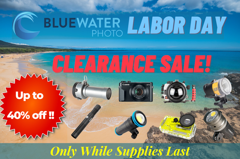 underwater photo and video gear sale