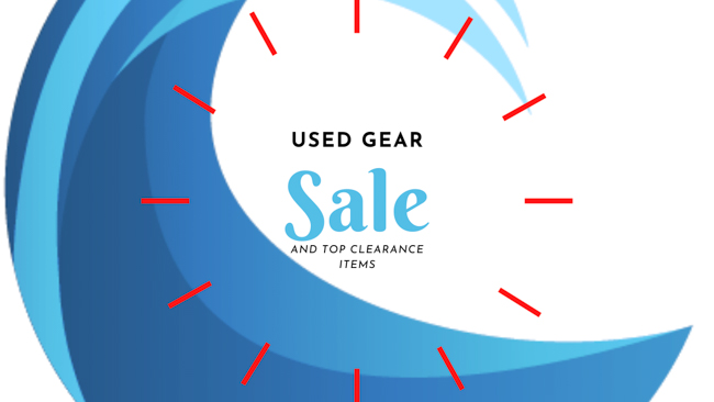 used and clearance gear sale bluewater