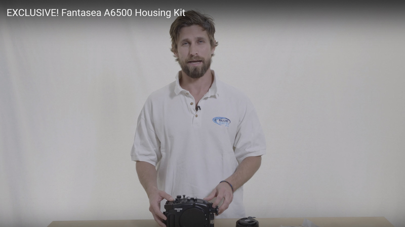 Holiday Exclusive: Fantasea A6500 Housing Kit