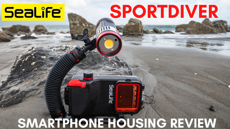 SeaLife SportDiver Smartphone Housing Review