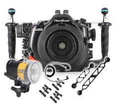 Nauticam D850 Housing, Strobe and Port Package