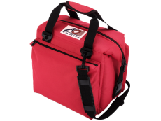 AO Cooler Bag / Portable Rinse Tank -12 Pack DELUXE Red