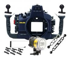 Sea & Sea Nikon D810 Housing, Strobe and Port Package
