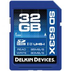 Delkin 32GB SD Memory Card 633x