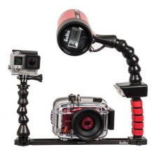 Dual AF35 Tray with T-Mount and Flex Ball