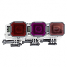 Polar Pro Underwater Three Pack of Filters for GoPro