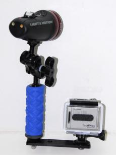 Ultralight Single Tray and Handle For GoPro Camera TR-GP/TR-DHB