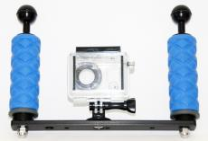 Ultralight Dual Handle Tray For GoPro Camera
