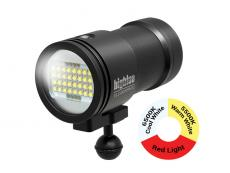 Big Blue 15,000 Lumen Pro Mini, Tri-Color Underwater Video Light - VL15000P-TC