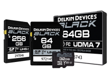 Delkin Black SD Memory Card
