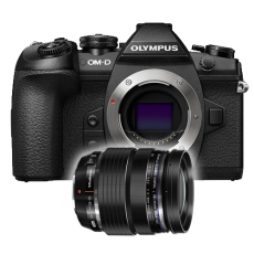 Olympus OM-D E-M1 Mark II Camera & 12-40mm Lens Bundle