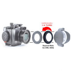 Fantasea Bayonet Adapter for UWL-400Q Wide Lens (Male)