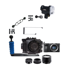 Fantasea Sony A6500 Camera, Housing and YS-01 Strobe Package