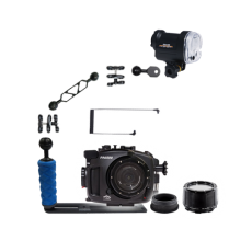 Fantasea Sony A6500 Housing, Port, Gear and YS-01 Strobe Package