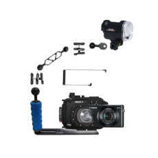Fantasea Canon G7X II Camera, Housing and YS-01 Strobe Package