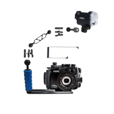 Fantasea Canon G9X Housing and YS-01 Strobe Package