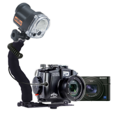 Fantasea RX100 VII Camera, Housing and YS-03 Solis Strobe Package