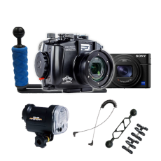 Fantasea RX100 VII Camera, Housing and YS-01 Strobe Package