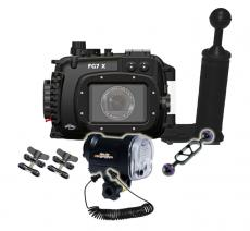 Fantasea Canon G7x  Housing & Strobe Value Package