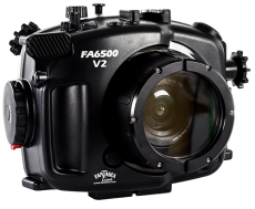 Fantasea Sony A6300 A6500 V2 Front of Underwater Housing