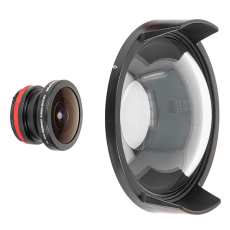 Ikelite FCON-T02 Lens and Dome Port Kit