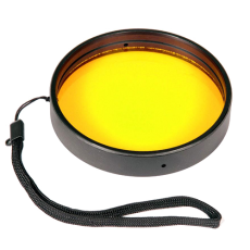 "Ikelite Yellow Fluorescence Filter for 3"" Ports"